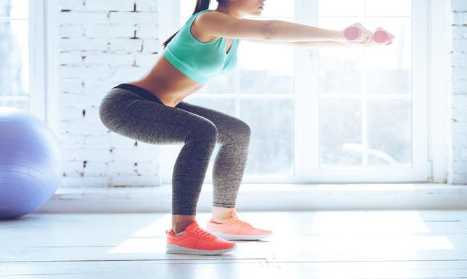 Squats for thigh fat