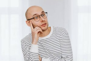 What causes hair loss in young male