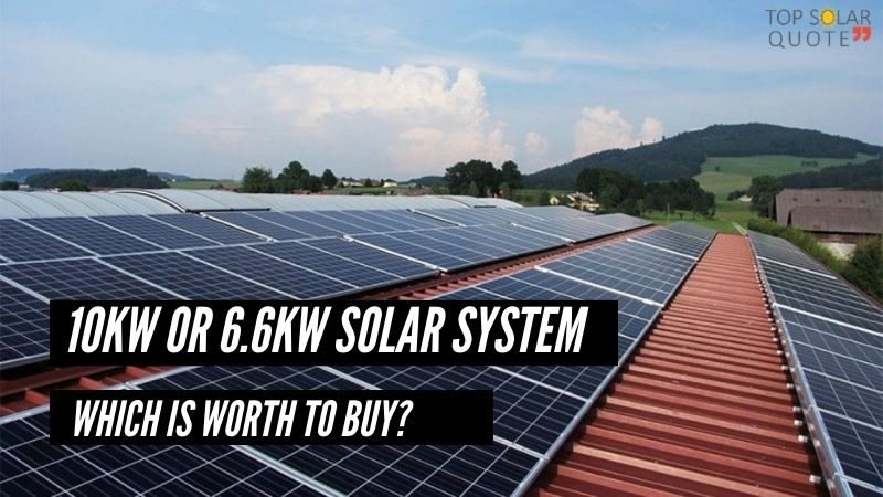 10Kw Or 6.6kw Solar System