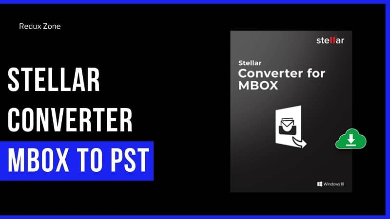 Stellar Converter MBOX To PST [Best MBOX to PST Converter Online]