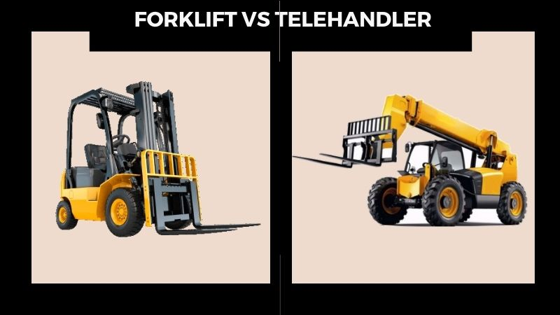 Forklift vs Telehandler: | Actual Difference between These Equipment